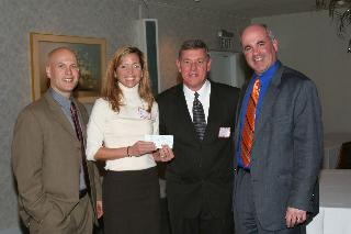 Surprise Check Presentation from the Rich Funke Jr. Golf Tournament Committee!