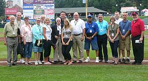 Press-Radio Honored at Frontier Field
