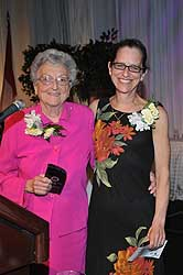 Jean Giambrone award winner - Jean and Sarah Jane Clifford